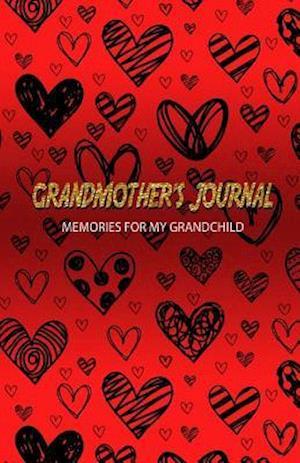 Bog, paperback Grandmother's Journal Memories for My Grandchild af J. Johnson