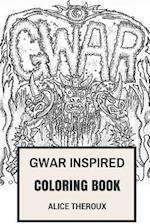 Gwar Inspired Coloring Book