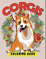 Corgis Coloring Book