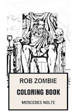 Rob Zombie Coloring Book