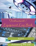Instrument / Equipment Log Book