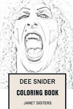 Dee Snider Coloring Book