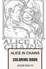 Alice in Chains Coloring Book
