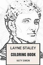 Layne Staley Coloring Book