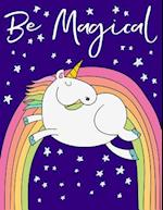 Unicorn Draw and Write Notebook Journal