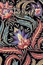 Journal to Write in Vintage Floral Design
