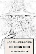 J.R.R Tolkien Inspired Coloring Book