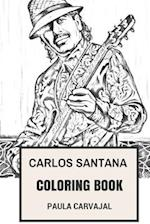 Carlos Santana Coloring Book