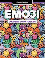 Emoji Coloring Book for Kids