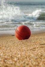 Beach Cricket Notebook
