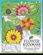 Flower Bookmark Coloring Book