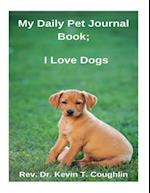 My Daily Pet Journal Book