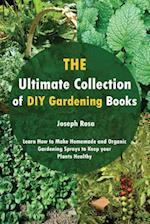 The Ultimate Collection of DIY Gardening Books
