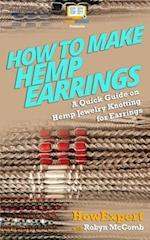 How to Make Hemp Earrings