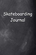 Skateboarding Journal Chalkboard Design