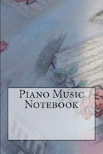 Piano Music Notebook