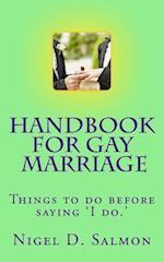 Handbook for Gay Marriage