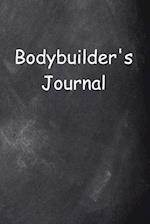 Bodybuilder's Journal Chalkboard Design
