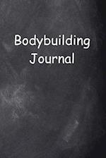 Bodybuilding Journal Chalkboard Design