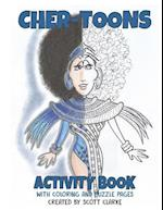 Cher-Toons, Activity Book