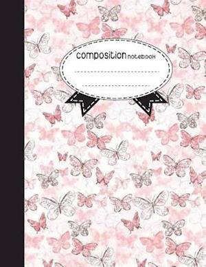 Composition Notebook, 8.5 X 11, 110 Pages