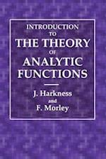 Introduction to the Theory of Analytical Functions