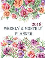 2018 Weekly & Monthly Planner