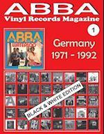 Abba - Vinyl Records Magazine No. 1 - Germany - Black & White Edition