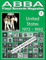 Abba - Vinyl Records Magazine No. 3 - United States - Black & White Edition