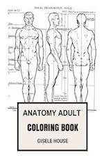 Anatomy Adult Coloring Book