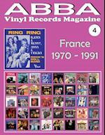 Abba - Vinyl Records Magazine No. 4 - France (1970 - 1991)