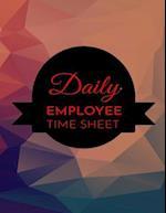 Daily Employee Time Sheet