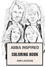 Abba Inspired Coloring Book
