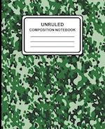 Unruled Composition Notebook
