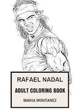 Rafael Nadal Adult Coloring Book