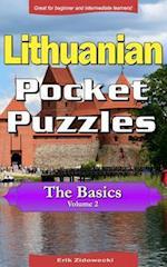 Lithuanian Pocket Puzzles - The Basics - Volume 2
