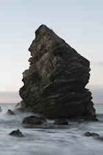 Ocean Rock - Lined Notebook with Margins