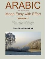 Arabic Made Easy with Effort - 1
