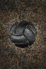 Monogram Volleyball Notebook