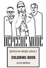 Depeche Mode Adult Coloring Book