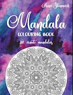 Mandala Colouring Book - 26 Ornate Mandalas