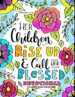 Devotional Coloring Book for Women