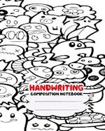 Handwriting Composition Notebook, 8 X 10 Inch 200 Page,