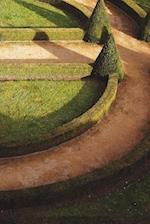 English Garden Path Notebook