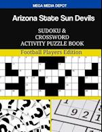 Arizona State Sun Devils Sudoku and Crossword Activity Puzzle Book