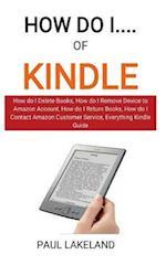 How Do I...of Kindle