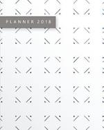 2018 Monthly and Daily Planner