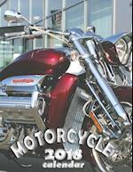Motorcycle 2018 Calendar (UK Edition)