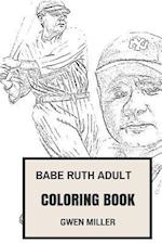 Babe Ruth Adult Coloring Book