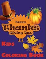 Kids Coloring Book ( Thanksgiving Day )